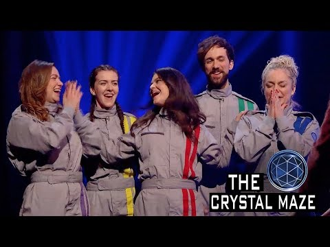 Record Breaking Crystal Maze Contestants