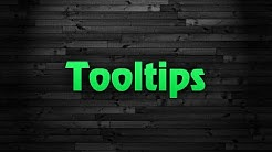Web Design - Tooltips in HTML