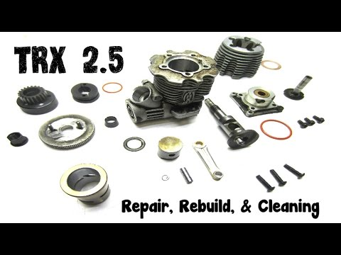 RC How To Disassemble 2.5 Traxxas Engine