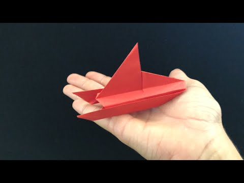 Paper Benders: How 2 Fold An EASY SAIL BOAT!!!