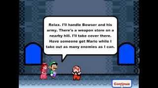 Марио и принцесса спасение, игры для мальчиков