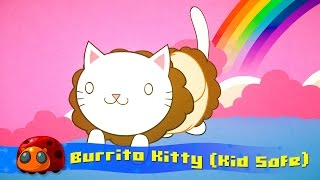 Burrito Kitty - Silly Song for kids - JellyBug