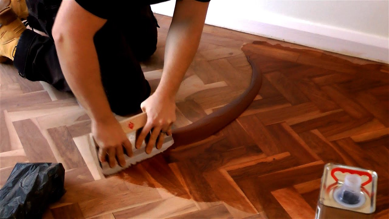 Attractive How To Fill A Wooden Floor   YouTube