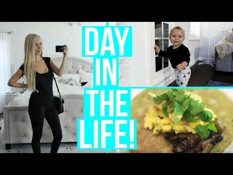 A DAY IN THE LIFE OF A WORK AT HOME MOM!