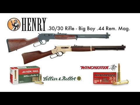 Test a caccia: Henry Rifle .30/30 - Big Boy .44 Remington Magnum - Field Test