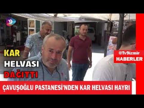 ÇAVUŞOĞLU PASTANESİ'NDEN KAR HELVASI HAYRI
