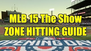 MLB 15 The Show Hitting Tips - Zone Hitting