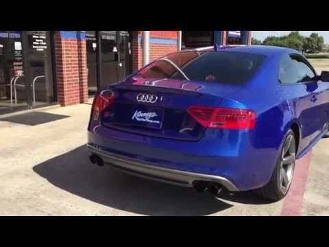 2015 Audi S5 3.0 supercharged Custom Performance exhaust System By Kinney's