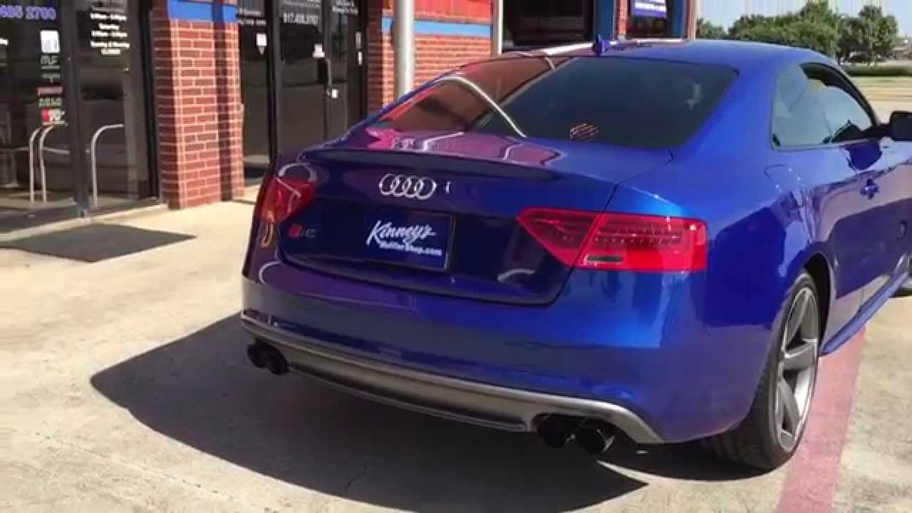 2015 Audi S5 3 0 supercharged Custom Performance exhaust System By Kinney's