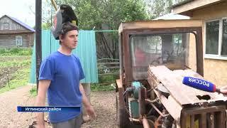 Самодельная техника умельца из Башкирии