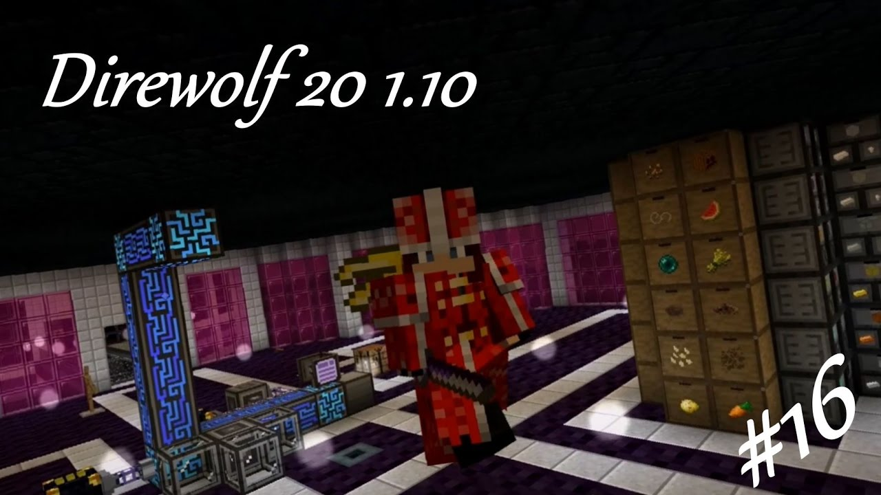 Direwolf 20 1 10 Let's Play Ep  16: Some Quality of Life Improvements