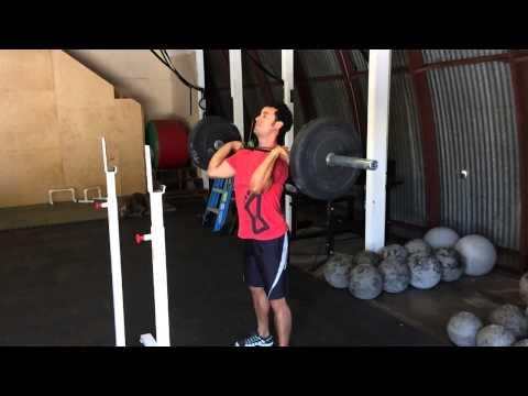 Power Jerk, Amity CrossFit, Palo Alto Barbell