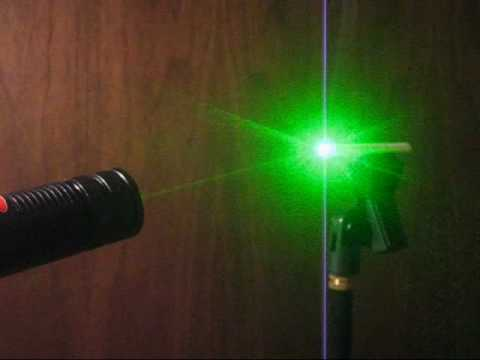 light a cigarette w a high power laser pointer skylasers youtube