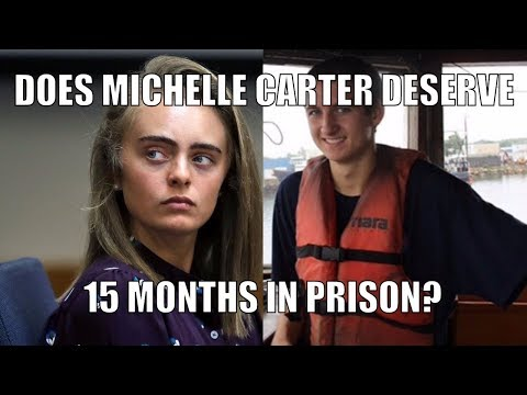 Did Michelle Carter Deserve 15 Months for Manslaughter? Transcript of her Text Messages to her BF