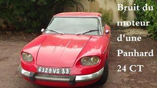 Bruit moteur panhard 24 CT