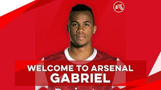 Welcome To Arsenal Gabriel Magalhaes