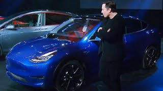 Elon Musk Unveils Model Y in 10 Minutes