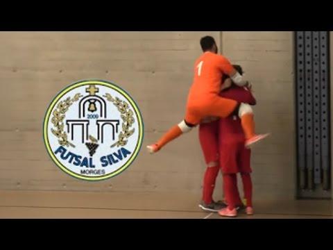 Löwen Futsal Zürich   FC Silva demi finale match aller saison 2016 2017