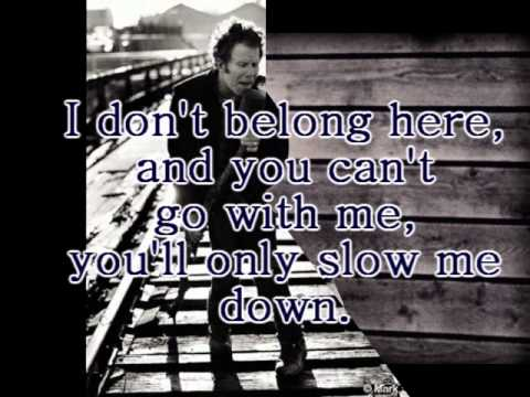 Tom Waits - If I Have To Go (Lyrics On Screen)