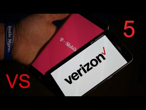 5 Reasons Verizon is better than T-Mobile!