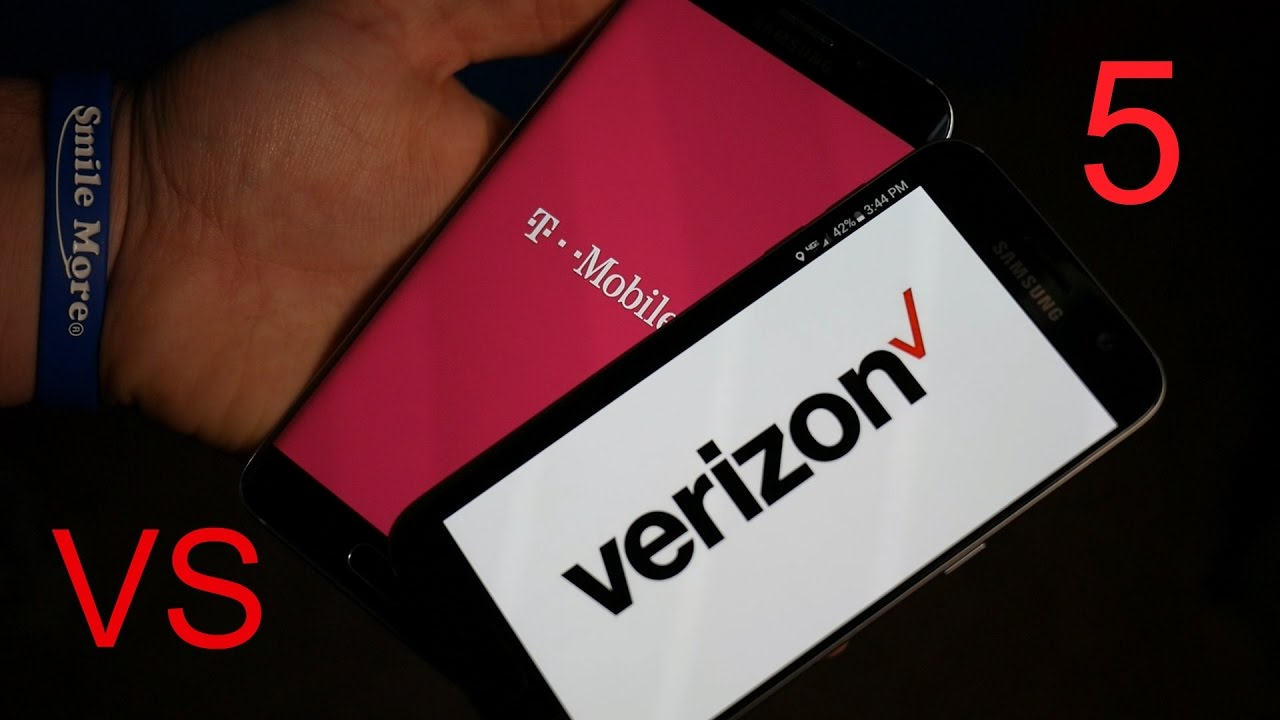 5 Reasons Verizon Is Better Than T Mobile Youtube