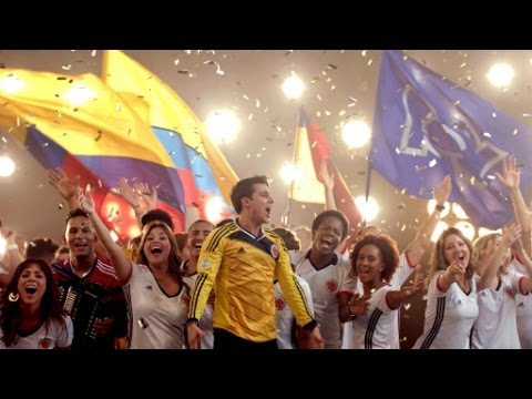 Himno Copa América Centenario 2016 #YoCreo (Grita Goool || Colombia)