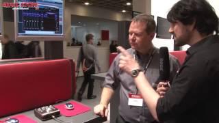 Musikmesse 2013 - TASCAM US-366 Audio Interface (english)