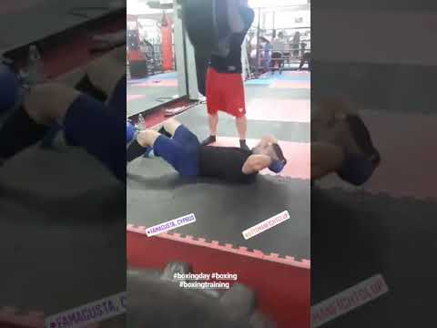 Boxing training VEDAT DUMRUL coach serdarfyasar özkan &