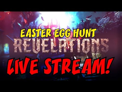 BO3 ZOMBIES REVELATIONS ULTIMATE EASTER EGG HUNT LIVE STREAM!