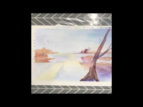 Watercolor Painting -Landscape[ Ann Larase]