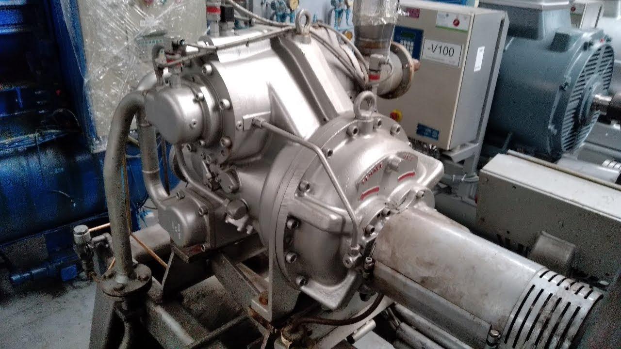 Sabroe SAB 163 HF MK3 Screw compressor unit with unisab II for Nh3 or Freon