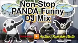 Panda Panda Funny Song   Non stop PANDA Funny DJ mix   my village show panda   Dj Siraj