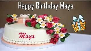 Happy Birthday Maya Image Wishes✔