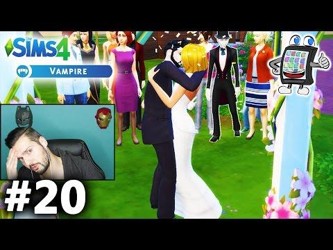 DIE SIMS 4 Vampire #20 - HOCHZEIT VON GRAF KAAN & DINA IM ROMANTISCHEN PARK! Spiel mit mir Games