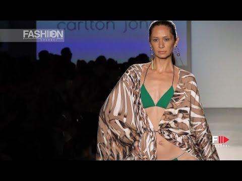 CARLTON JONES Spring Summer 2019 Global Fashion Collective New York - Fashion Channel