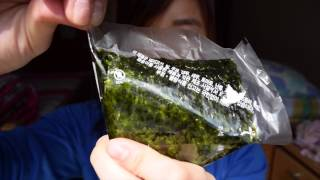 How to Open an Onigiri (Rice Ball) the Right Way :]