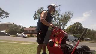 Just mowing.. :)