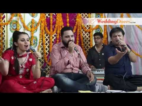 Aaj Din Khushiyan Da Sajna Punjabi Folk Song | WeddingDoers.com (full song)