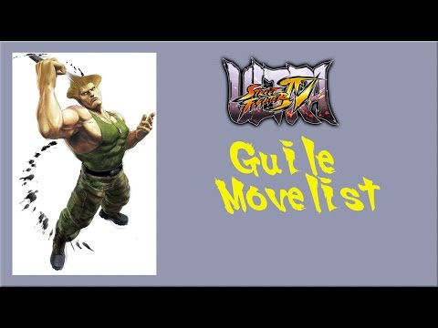 Ultra Street Fighter IV - Guile Move List