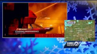 Fire destroys iconic Gates BBQ location in Independence