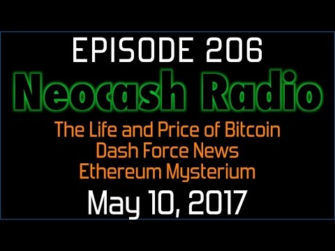 Ep206: The Life and Price of Bitcoin, Dash Force News, Ethereum Mysterium