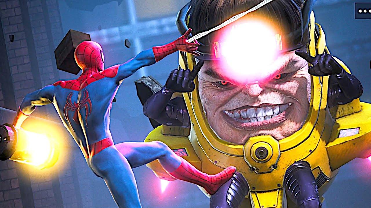 Spider man Vs Modok New Boss Fight - New marvel Avengers Game 2021