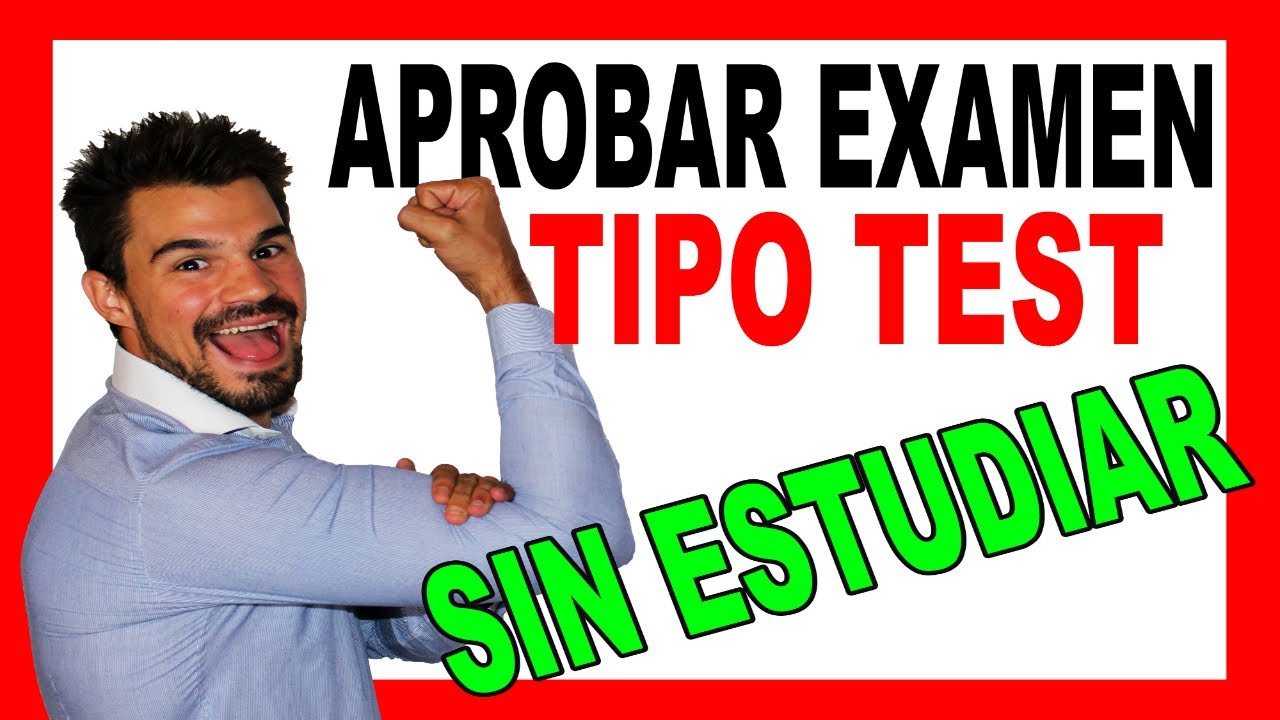 Aprobar Examen Tipo Test Sin Estudiar 9 Trucos Que No Conoces Funciona Profesor Oak Youtube