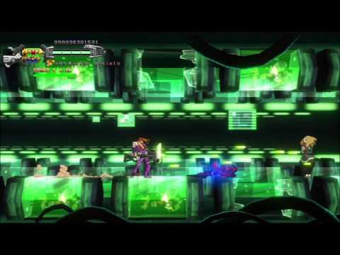Hard Corps: Uprising Arcade mode (Harley Daniels) masochist no damage run