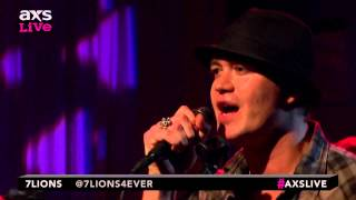 "7Lions Perform ""Born 2 Run"" on AXS Live"