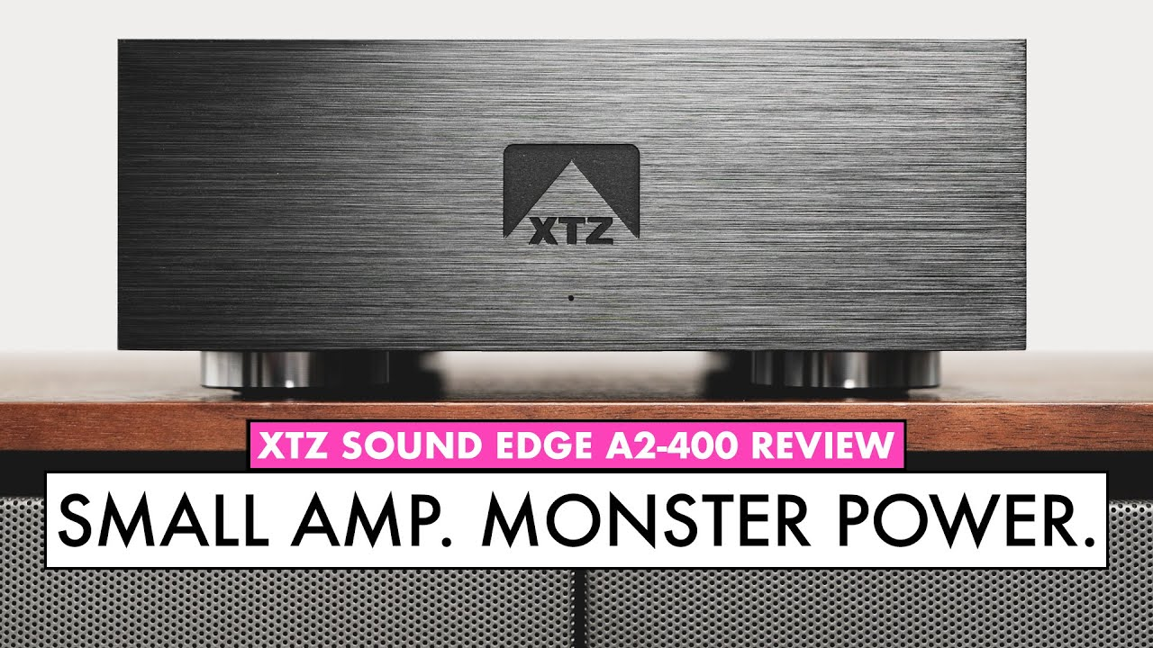 Class D Powerhouse!! Ice Power Amplifier - XTZ A2-400 AMPLIFIER Review