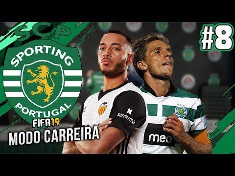 RUBEN VEZO OU DANIEL CARRIÇO NO MERCADO DE INVERNO?! - FIFA 19 Sporting Modo Carreira #8