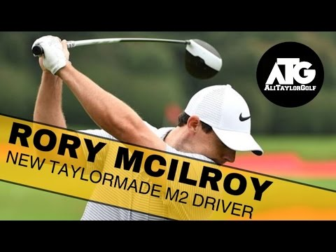 RORY MCILROY NEW TAYLORMADE M2 DRIVER