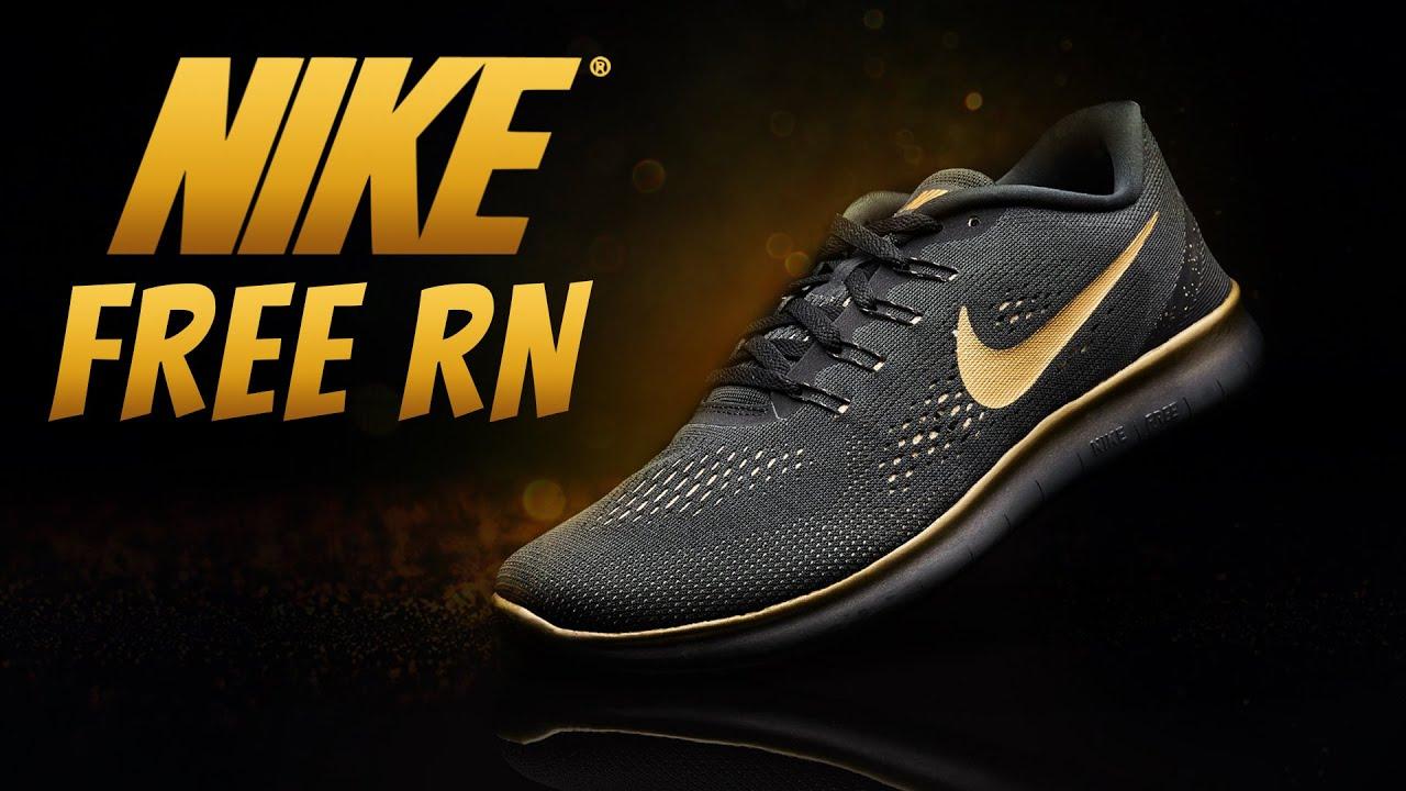 9236132ac91b Gold Nike Free RN Limited Edition - So SICK! - YouTube