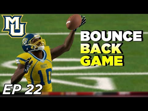 NCAA Football 14 Dynasty | Marquette - DEFENSE FINALLY SHOWS!! - Ep 22